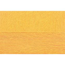 Пряжа Пехорка Хлопок Натуральный летний ассорт (100% хлопок) 5х100г/425 цв.012 желток