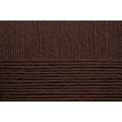 Пряжа Пехорка Хлопок Натуральный летний ассорт (100% хлопок) 5х100г/425 цв.251 коричневый