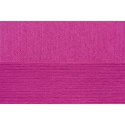 Пряжа Пехорка Цветное кружево (100% мерсеризованный хлопок) 4х50г/475м цв.049 фуксия