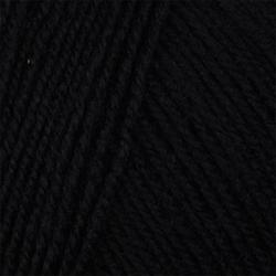 Пряжа Пехорка Элитная (100% меринос.шерсть) 10х50г/415м цв.002 черный