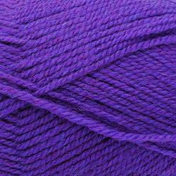 Пряжа Троицкая Подмосковная (50% шерсть, 50% акрил) 10х100г/250м цв.0266 фиолетовый