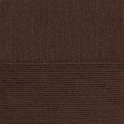 Пряжа Пехорка Детский каприз тёплый (50% мериносовая шерсть, 50% фибра) 10х50г/125м цв.251 коричневый