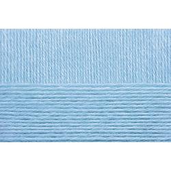 Пряжа Пехорка Детский каприз тёплый (50% мериносовая шерсть, 50% фибра) 10х50г/125м цв.005 голубой