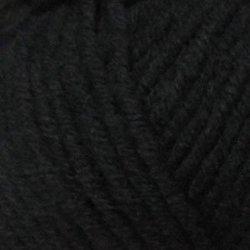 Пряжа Пехорка Зимняя премьера (50% мериносовая шерсть, 50% акрил) 10х100г/150м цв.002 черный