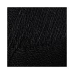 Пряжа Пехорка Конкурентная (50% шерсть, 50% акрил) 10х100г/250м цв.002 черный