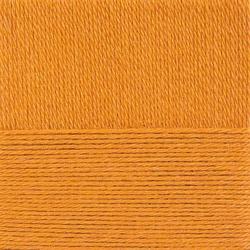 Пряжа Пехорка Конкурентная (50% шерсть, 50% акрил) 10х100г/250м цв.259 осенний лист