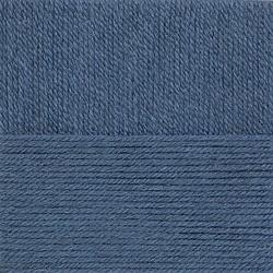 Пряжа Пехорка Носочная (50% шерсть, 50% акрил) 10х100г/200м цв.256 св.джинса