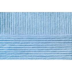 Пряжа Пехорка Перспективная (50% мериносовая шерсть, 50% акрил) 5х100г/270м цв.005 голубой