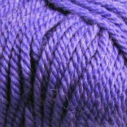 Пряжа Пехорка Популярная (50% импортная шерсть, 45% акрил, 5% акрил высокообъёмный) 10х100г/133м цв.078 фиолетовый