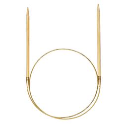 Спицы Addi Бамбук, круговые, №7, 40 см