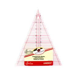 """Аксессуары Hemline Линейка-треугольник с углом 45*, градация в дюймах, размер 8 1/2"""" x 7"""""""