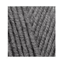 Пряжа Alize Lana Gold Plus (49% шерсть, 51% акрил) 5х100г/140м цв.182 средне серый