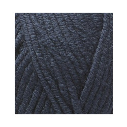 Пряжа Alize Lana Gold Plus (49% шерсть, 51% акрил) 5х100г/140м цв.058 т.синий