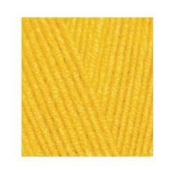 Пряжа Alize Lana Gold (49% шерсть, 51% акрил) 5х100г/240м цв.216 желтый