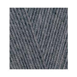 Пряжа Alize Lana Gold 800 (49% шерсть, 51% акрил) 5х100г/800м цв.182 средне-серый