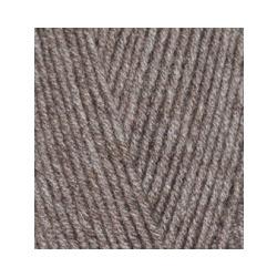Пряжа Alize Lana Gold 800 (49% шерсть, 51% акрил) 5х100г/800м цв.240 св.коричнеый меланж