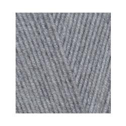 Пряжа Alize Lana Gold 800 (49% шерсть, 51% акрил) 5х100г/800м цв.200 св.серый