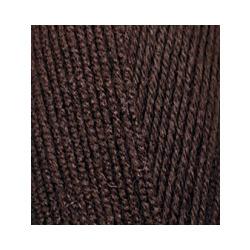 Пряжа Alize Lana Gold 800 (49% шерсть, 51% акрил) 5х100г/800м цв.026 коричневый