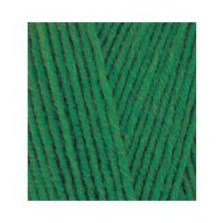 Пряжа Alize Lana Gold 800 (49% шерсть, 51% акрил) 5х100г/800м цв.118 зеленая трава