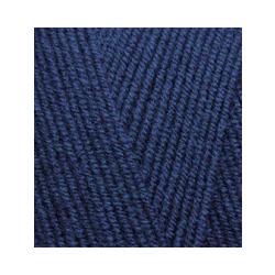 Пряжа Alize Lana Gold 800 (49% шерсть, 51% акрил) 5х100г/800м цв.058 т.синий