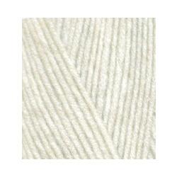 Пряжа Alize Lana Gold 800 (49% шерсть, 51% акрил) 5х100г/800м цв.001 кремовый