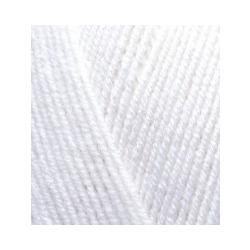 Пряжа Alize Lana Gold 800 (49% шерсть, 51% акрил) 5х100г/800м цв.055 белый