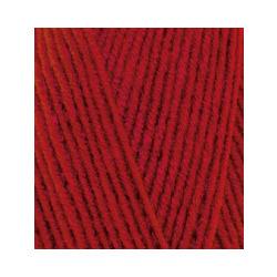 Пряжа Alize Lana Gold 800 (49% шерсть, 51% акрил) 5х100г/800м цв.056 красный