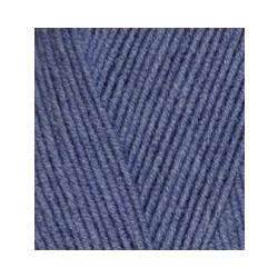 Пряжа Alize Lana Gold 800 (49% шерсть, 51% акрил) 5х100г/800м цв.203 джинс меланж