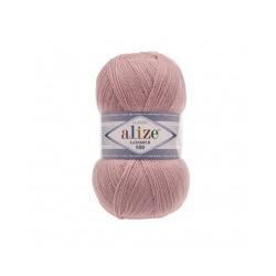 Пряжа Alize Lana Gold 800 (49% шерсть, 51% акрил) 5х100г/800м цв.161 пудра