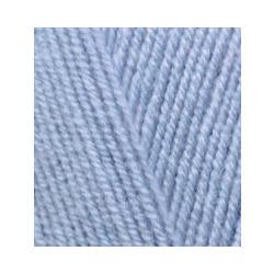 Пряжа Alize Lana Gold Fine (49% шерсть, 51% акрил) 5х100г/390м цв.040 голубой