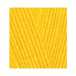 Пряжа Alize Lana Gold Fine (49% шерсть, 51% акрил) 5х100г/390м цв.216 желтый