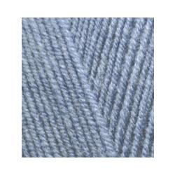 Пряжа Alize Lana Gold Fine (49% шерсть, 51% акрил) 5х100г/390м цв.221 светлый джинс