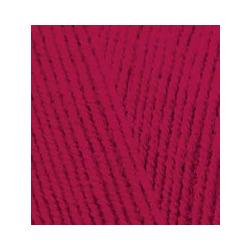 Пряжа Alize Lana Gold Fine (49% шерсть, 51% акрил) 5х100г/390м цв.390 т.красный