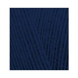 Пряжа Alize Lana Gold Fine (49% шерсть, 51% акрил) 5х100г/390м цв.590 т.синий