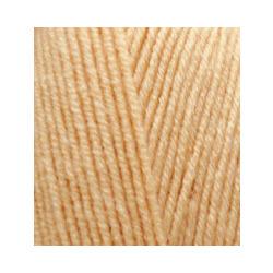 Пряжа Alize Lana Gold Fine (49% шерсть, 51% акрил) 5х100г/390м цв.680 медовый