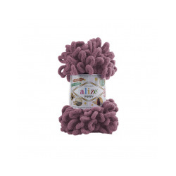 Пряжа Alize Puffy (100% микрополиэстер) 5х100г/9.5м цв.028 роза