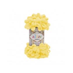 Пряжа Alize Puffy (100% микрополиэстер) 5х100г/9.5м цв.216 желтый