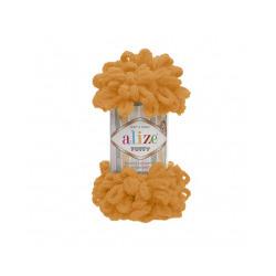 Пряжа Alize Puffy (100% микрополиэстер) 5х100г/9.5м цв.336 оранжевый