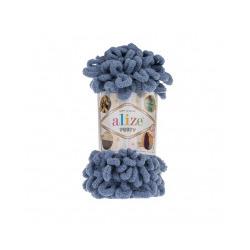 Пряжа Alize Puffy (100% микрополиэстер) 5х100г/9.5м цв.374 голубой