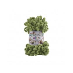 Пряжа Alize Puffy (100% микрополиэстер) 5х100г/9.5м цв.485 зеленый