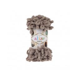 Пряжа Alize Puffy (100% микрополиэстер) 5х100г/9.5м цв.530 бежевый