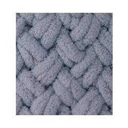 Пряжа Alize Puffy (100% микрополиэстер) 5х100г/9.5м цв.087 угольно-серый