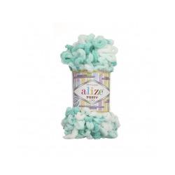 Пряжа Alize Puffy color (100% микрополиэстер) 5х100г/9м цв.5920