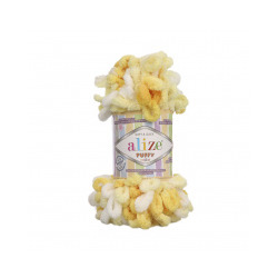 Пряжа Alize Puffy color (100% микрополиэстер) 5х100г/9м цв.5921