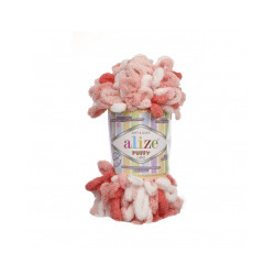 Пряжа Alize Puffy color (100% микрополиэстер) 5х100г/9м цв.5922