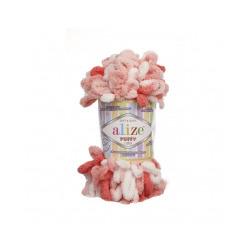 Пряжа Alize Puffy color (100% микрополиэстер) 5х100г/9м цв.5922