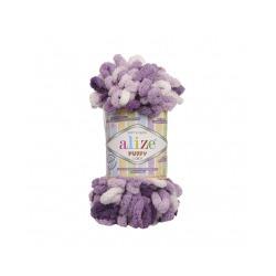 Пряжа Alize Puffy color (100% микрополиэстер) 5х100г/9м цв.5923