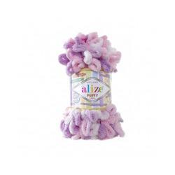 Пряжа Alize Puffy color (100% микрополиэстер) 5х100г/9м цв.6051