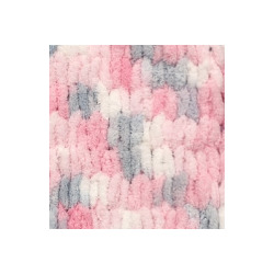 Пряжа Alize Puffy color (100% микрополиэстер) 5х100г/9м цв.5864