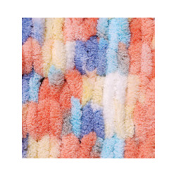 Пряжа Alize Puffy color (100% микрополиэстер) 5х100г/9м цв.5866